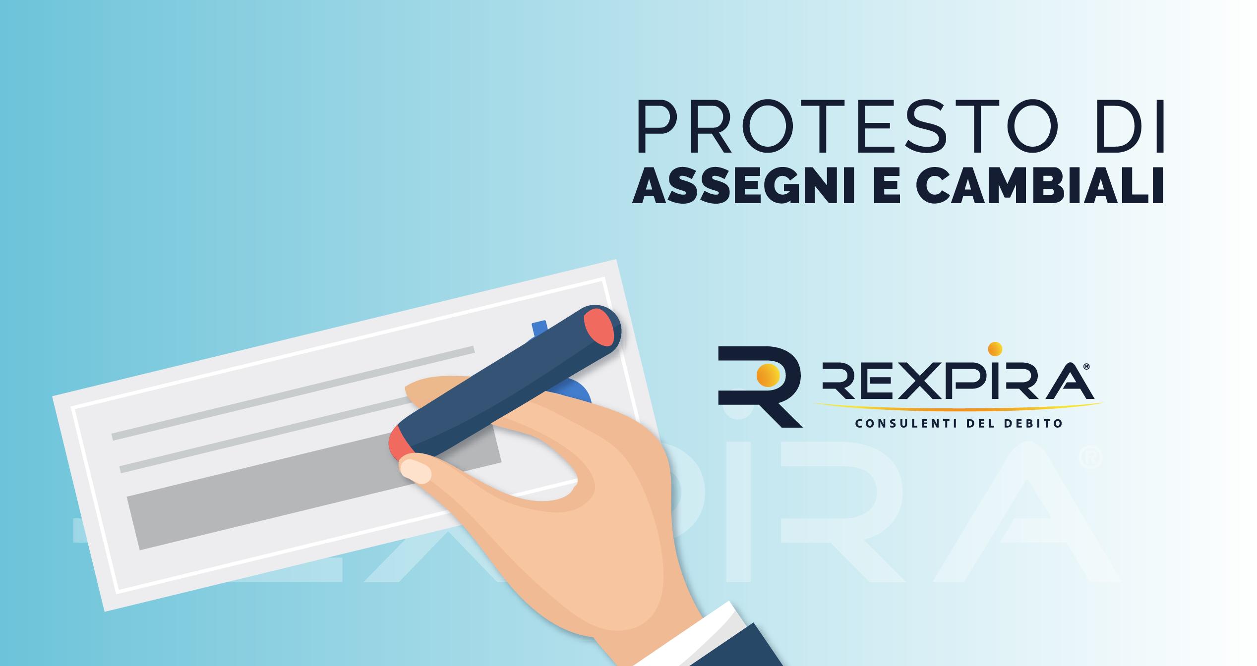 Protesto di assegni e cambiali
