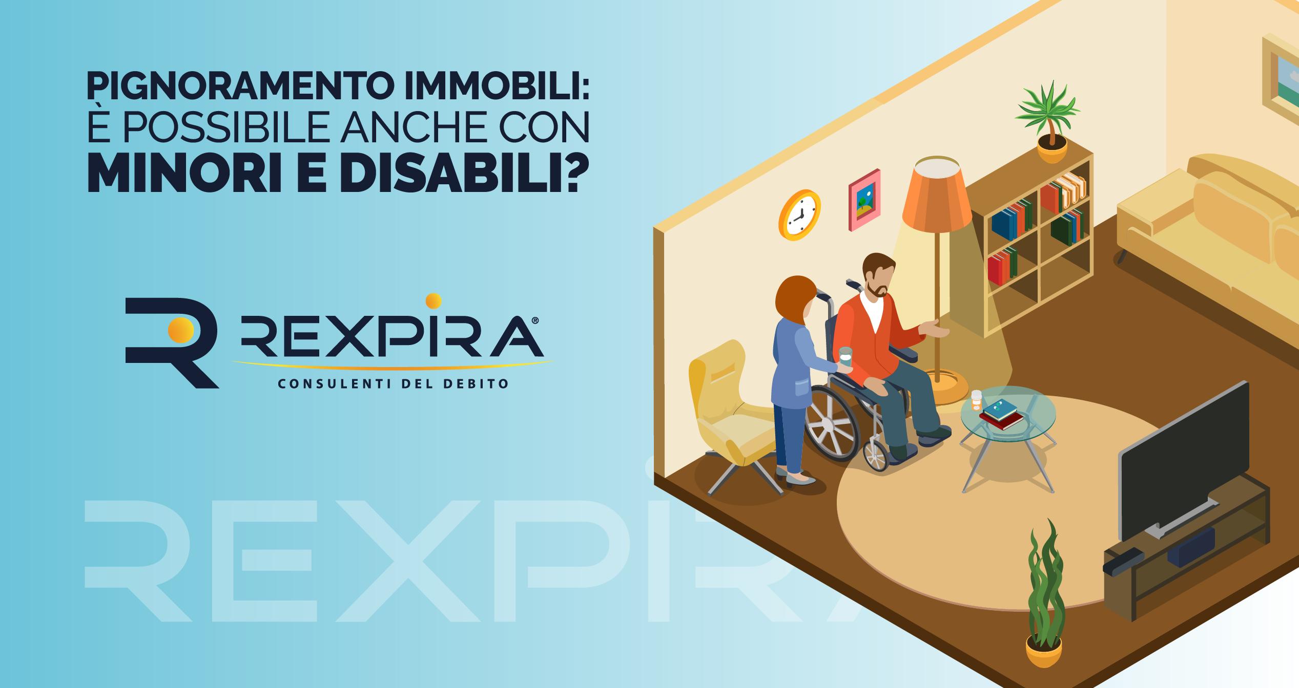 se ci sono disabili si può pignorare casa?