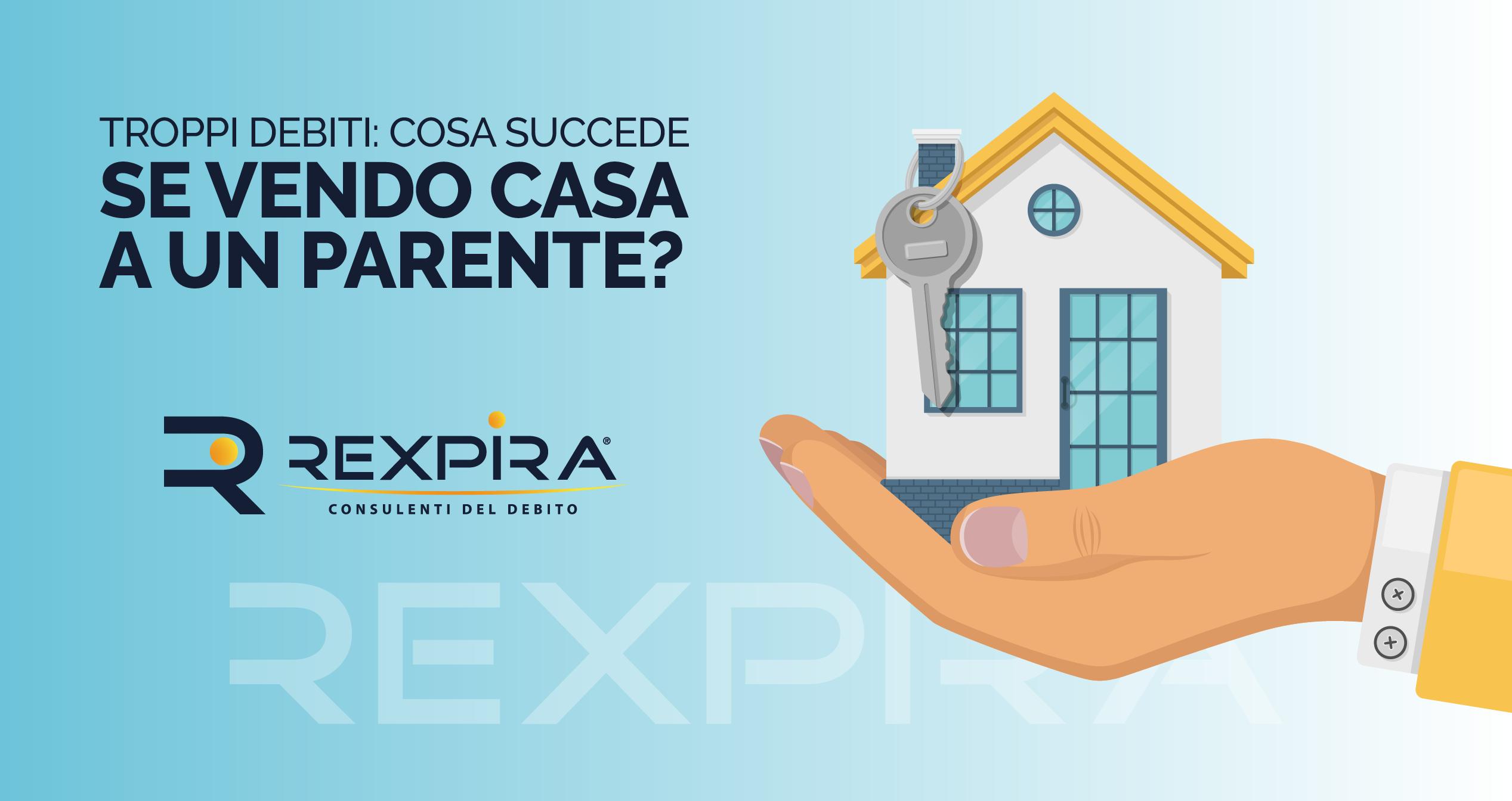 Troppi debiti: rischio qualcosa se vendo casa a un parente?