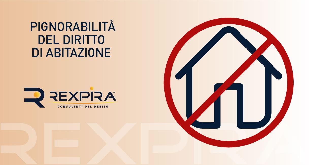 Pignoramento o ipoteca del diritto di abitazione